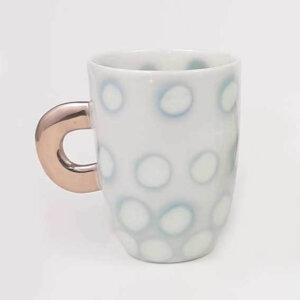 Kubeczek do kawy AQUARELL – szarozielony