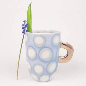 Kubeczek do kawy AQUARELL – błękitny
