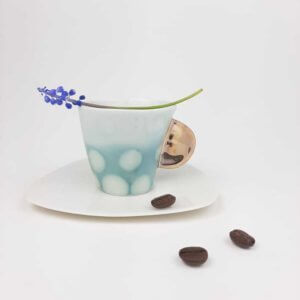 Filiżanka espresso AQUARELL- zielona