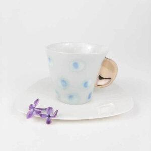 Filiżanka espresso AQYARELL- błękitna