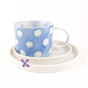 Filiżanka do kawy AQUARELL- niebieska